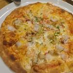 レストラン ベビーフェース - 料理写真:シーフードピザ