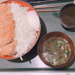 てんてん - 料理写真:ソースカツ丼大盛