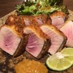 ぽんしゅや 三徳六味 - マグロのカツ 辛子麹 780円