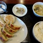 gyouzabouchainado-rurakuen - 餃子房CHINADOLL 四種餃子の盛り合わせ