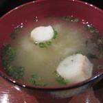 幸蔵 - あさりの味噌汁