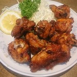 華名閣 - 料理写真:オススメの鶏肉のカラアゲ(*^ー^)ノ ◯