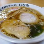 手打ちラーメン いなみ - 料理写真:ラーメン(650円)