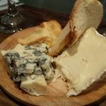 トレイントレイン - チーズ3種盛り