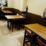 麺匠 藩次郎 - テーブル席