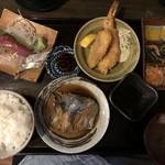 舞鶴港 漁師小屋 - 漁師小屋定食