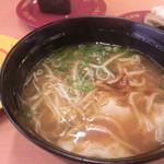 スシロー - 濃厚えび味噌ワンタンメン