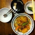 関宿屋 - 天丼(1,000円)