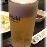 もも屋 - ドリンク写真:生ビールジョッキがキンキン☆