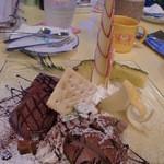 うみねこ - チーズケーキパフェ
