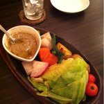 waintokurafutobi-ruharubaru - グリル野菜のバーニャカウダ