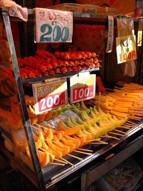 百果園 上野第一店 - 年末のラインナップ