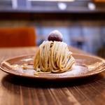 スイーツ カフェ キョウト ケイゾー - ■モンブランセット 1447円