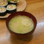 巻の禪 - 信州味噌のお味噌汁