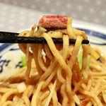 113751273 - 20190817担担麺・麺リフト