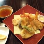 桑名シティホテル - 選べるメイン料理 天ぷら盛合せ