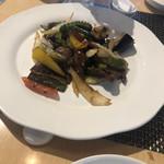 113755967 - 牛肉と夏野菜の豆豉醤炒め