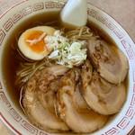 大野湊食堂 - にんにく醤油チャーシューメン