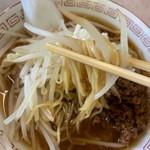 大野湊食堂 - もやしと麺がよく合うげんて~