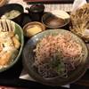 名水手打ちそば お清水 - 料理写真:丼セット おろしそば、季節の醤油カツ丼