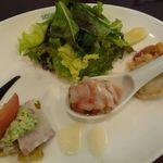 サレポア食堂 - フランス食堂風ランチの前菜
