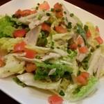 セコンドカーサ - 霜降り白菜と蒸し鶏のサラダ