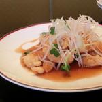 中国料理 娘娘 - 海老の甘酢