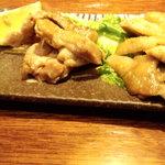 北の味紀行と地酒 北海道 - 黄金焼き(モモ肉)