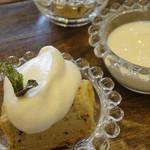 スマイルカフェ 1/2 - ミニデザート 紅茶のシフォン