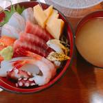 えびせい - 大漁海鮮丼  1,500円