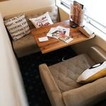 モニカ&アドリアーノ - 2階奥の半個室席。