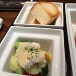 ココチ - ハモの彩り野菜のサラダ