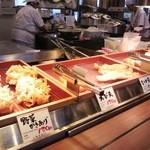 丸亀製麺 - 揚げ物のコーナー