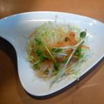 風花 - セットのサラダ