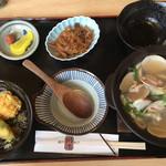 川市 - 料理写真:はまぐり本膳1680円です