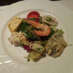 オステリア カッパ - 前菜盛り合本日の前菜盛り合わせ