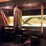 神山 - 地下テーブル席