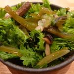 東京アスリート食堂 - 山菜サラダ