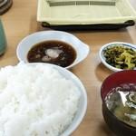だるまの天ぷら定食 - 料理写真: