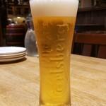ハーレーパーク - 生ビール (カールスバーグ)