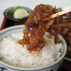 食事処味喜 - 料理写真:十和田バラ焼き!オンザライス