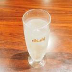 蜀王府 - 果実酒ソーダ割(りんご)
