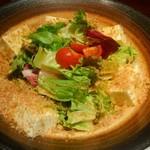 天勝 - 豆腐サラダ