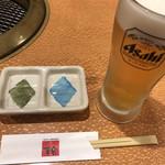 焼肉 幸楽 - 生ビール