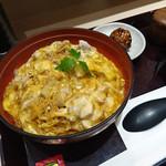 鶏三和 - 『名古屋コーチン親子丼 鶏そばセット』 1,491円