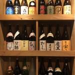野武士 - ドリンク写真:色々な焼酎を揃えております。