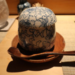 鮨割烹 廉 - 金目鯛の茶碗蒸し かに餡仕立て