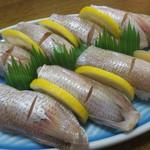 113793011 - 小鯛寿司