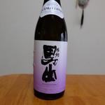 合名会社渡辺酒造店 豊穣蔵 - ドリンク写真:男山プレミアム純米吟醸(2380円)