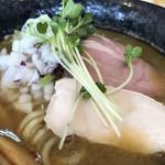 つけ麺 いな月 - 低温調理の豚鶏チャーシュー
